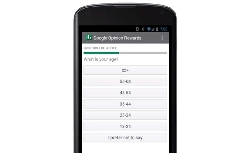 google sondage remunere