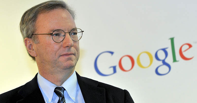 google vs apple eric schmidt