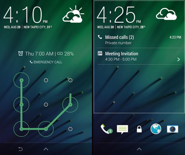 HTC One Sense 6