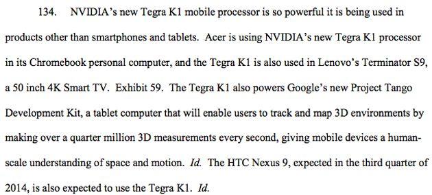 HTC Nexus 9 NVIDIA