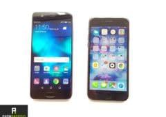 huawei p10 vs iPhone7