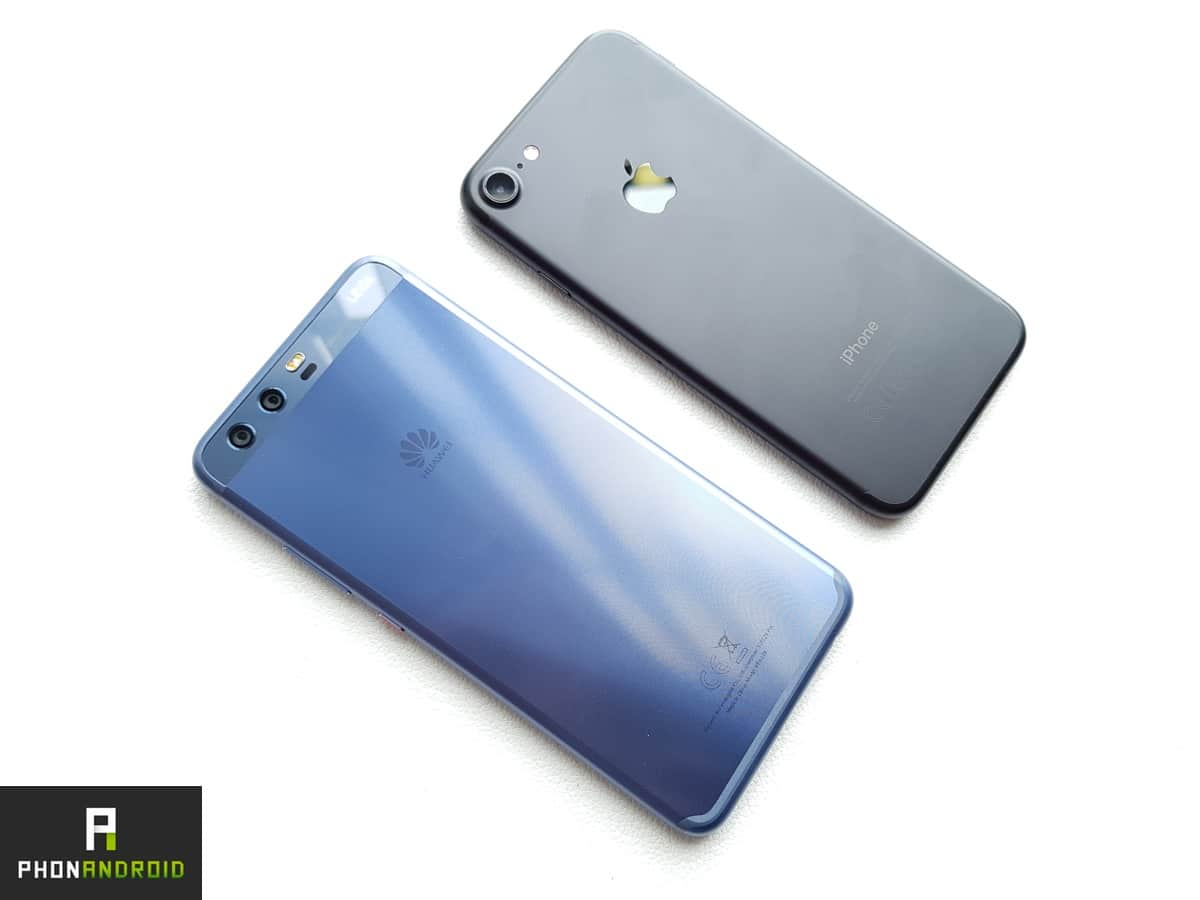Huawei P10 Vs Iphone 7 Une Ressemblance Vraiment Flagrante