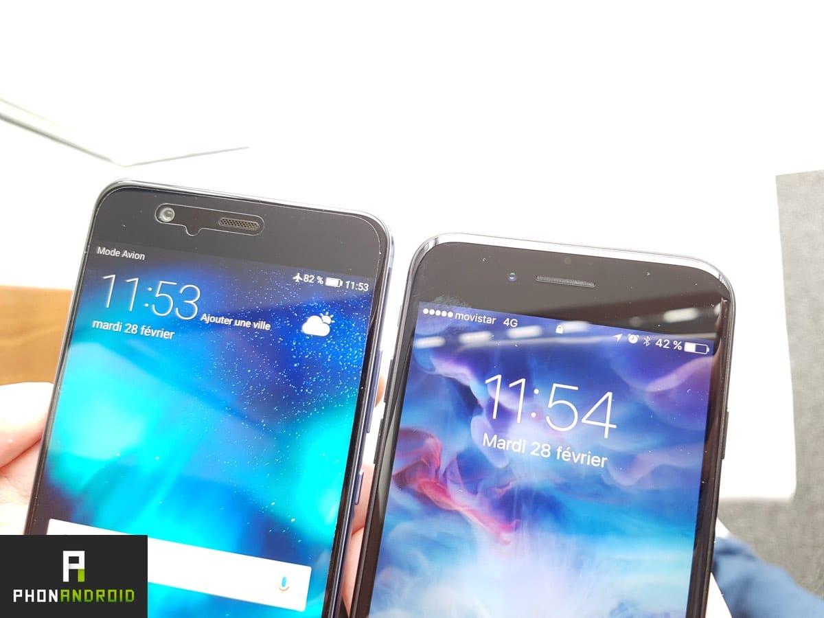 Huawei P10 VS iPhone 7