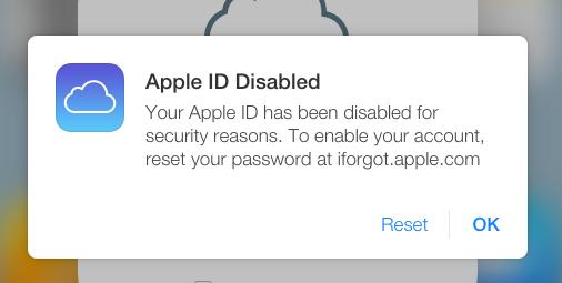 icloud apple id securite
