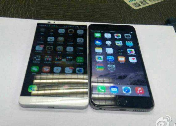 iPhone 6 Plus vs Huawei Ascend Mate 7