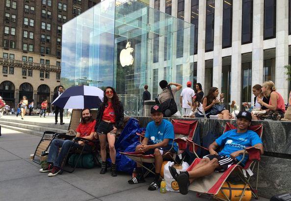 sortie de l'iPhone 6