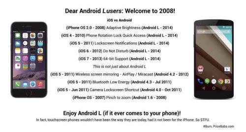 iOS vs Android, Round 2 !