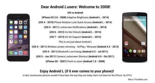 iOS vs Android, Round 2 !