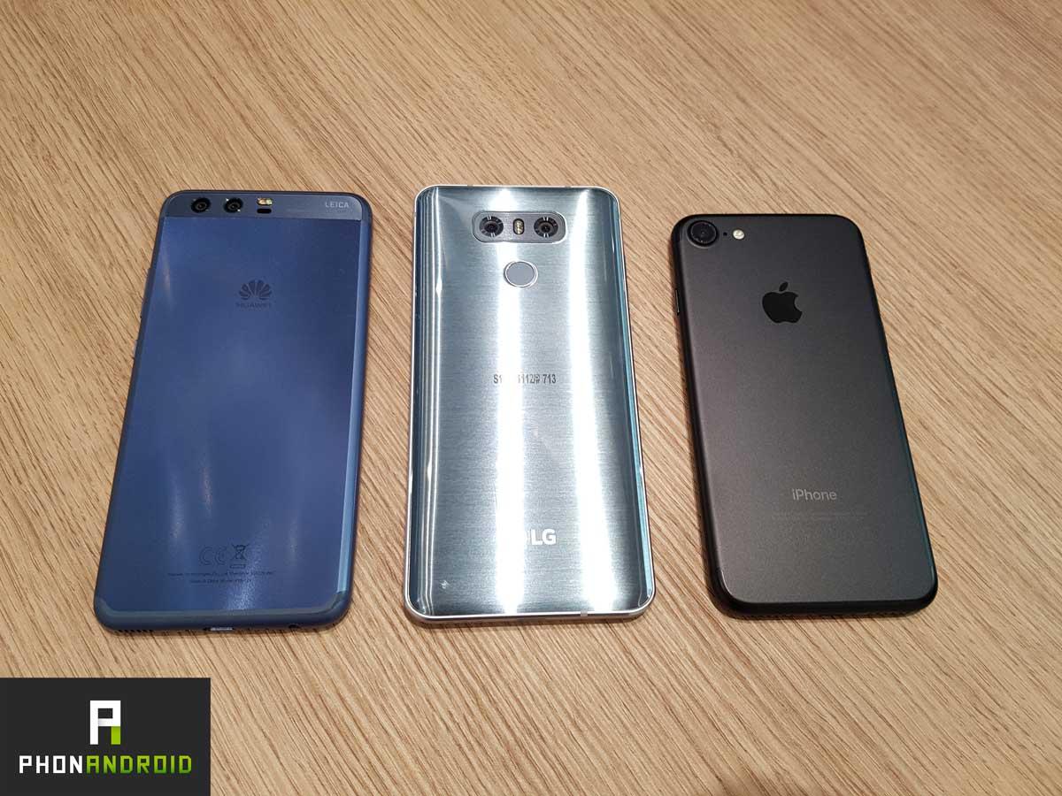 huawei lg g6 iphone 7