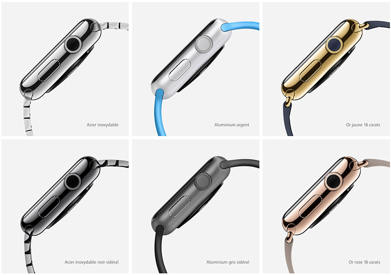 iwatch 6 boitiers