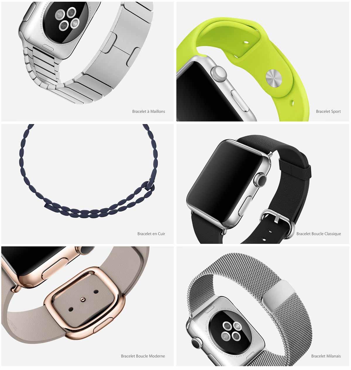 iwatch bracelets
