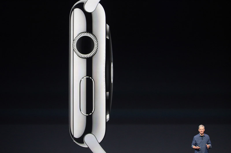 iwatch molette