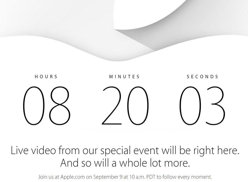 keynote apple 2014 heure