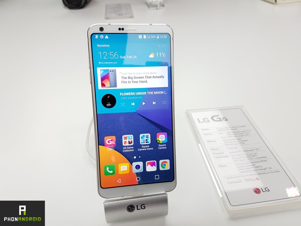 LG G6 prix