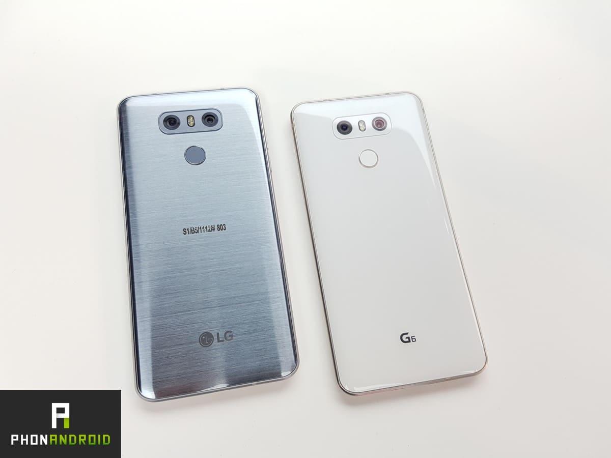 Design du LG G6