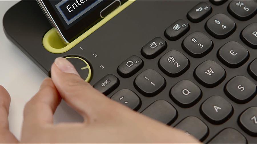 logitech clavier physique multi plateforme