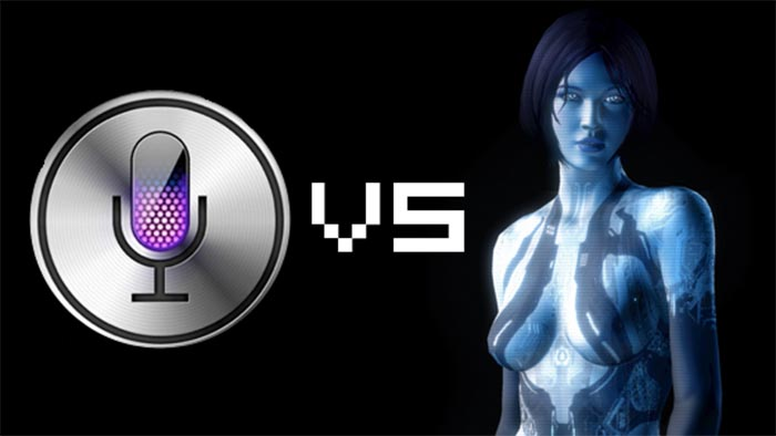 microsoft apple cortana siri