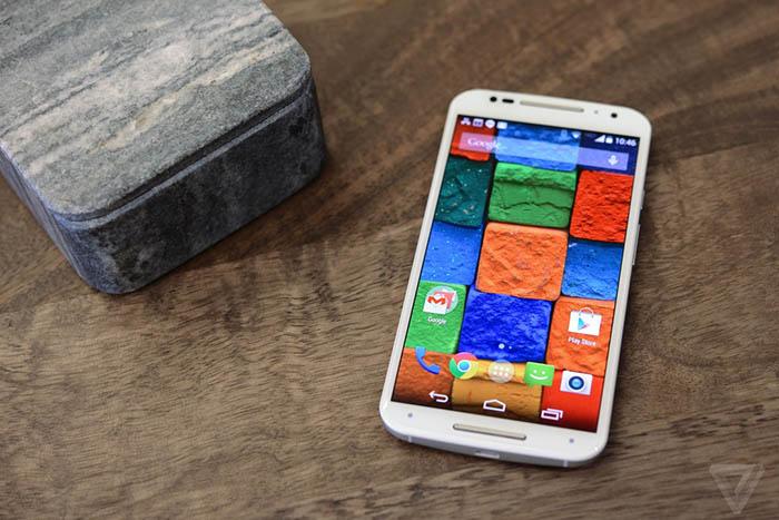 applications Moto X 2014
