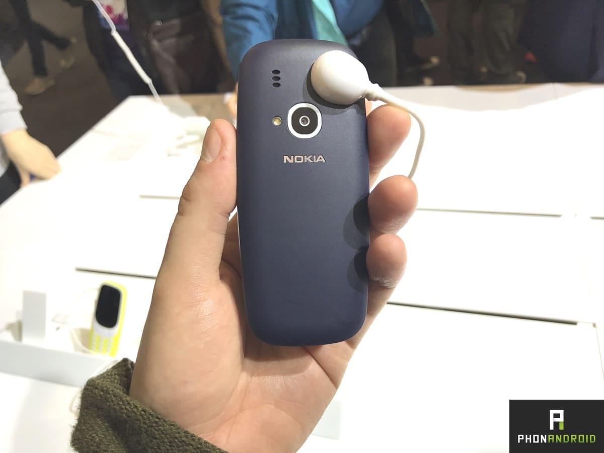 nokia 3310 bleu