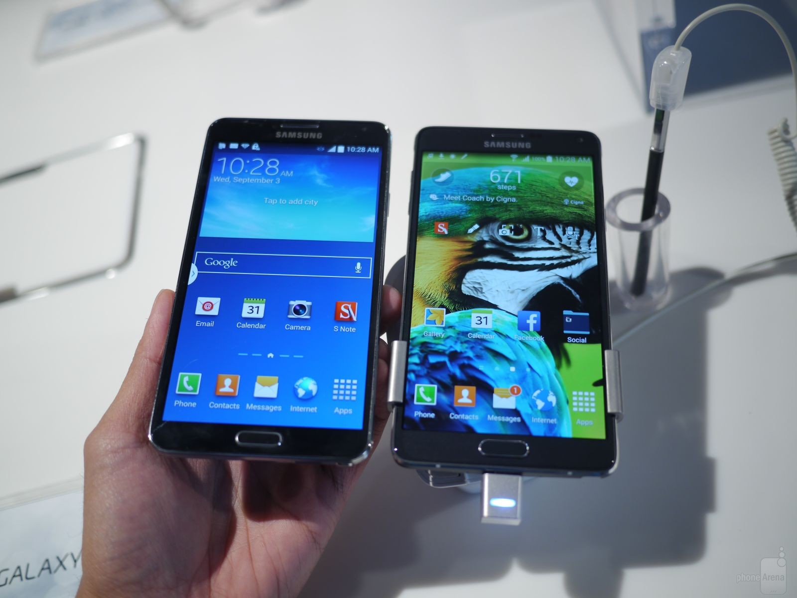 Galaxy Note 4 vs Galaxy Note 3