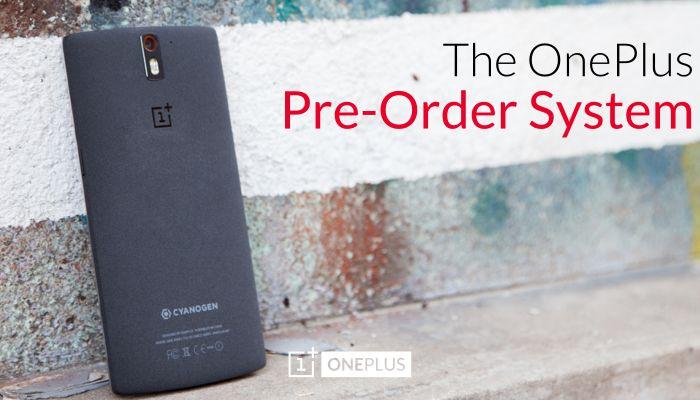 OnePlus One précommandes