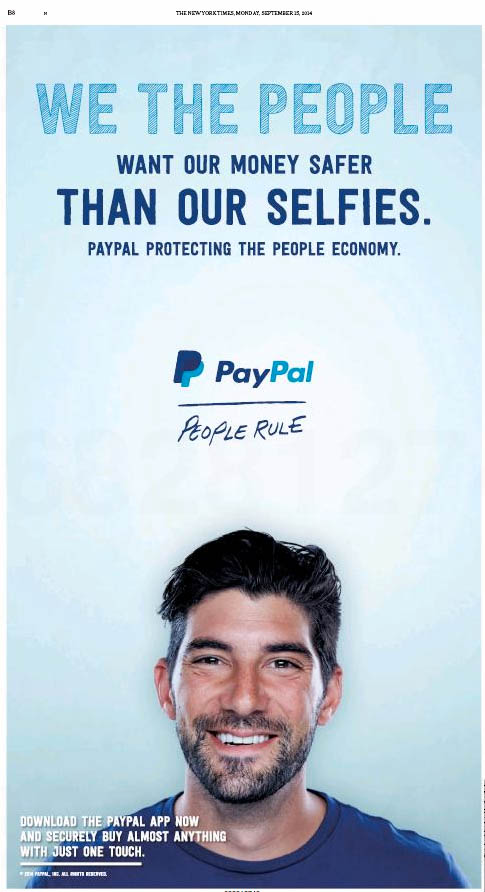 paypal moque apple pay