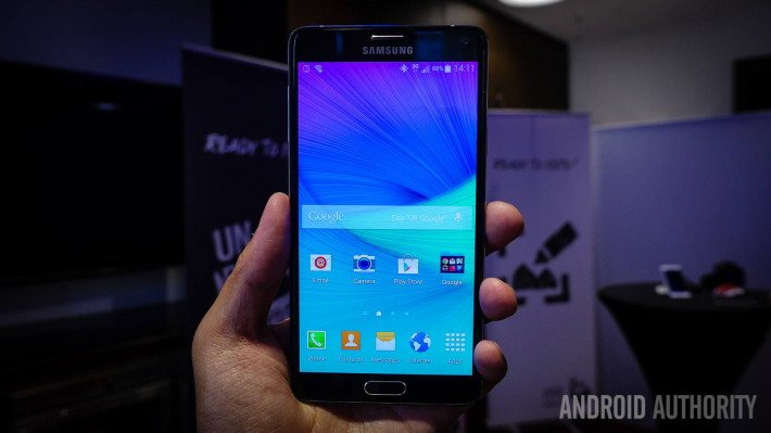 samsung galaxy note 4 prise en main