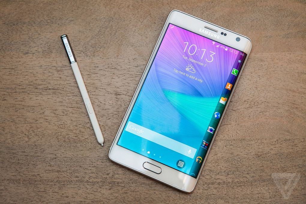 benchmarks du Galaxy Note Edge