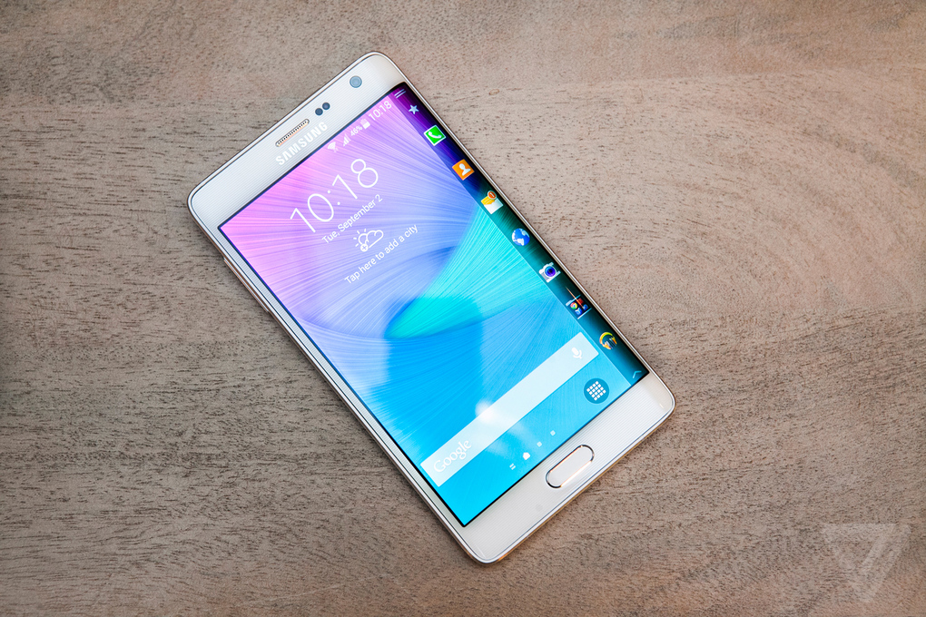 samsung galaxy note edge ecran incurve