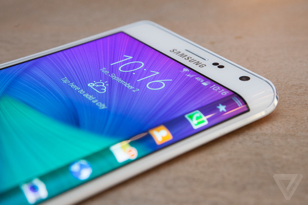 samsung galaxy note edge prise en main