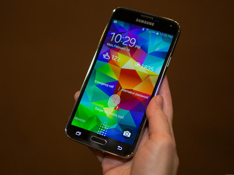 Samsung Galaxy S5 Mini comparatif
