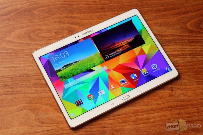 écran Galaxy Tab S