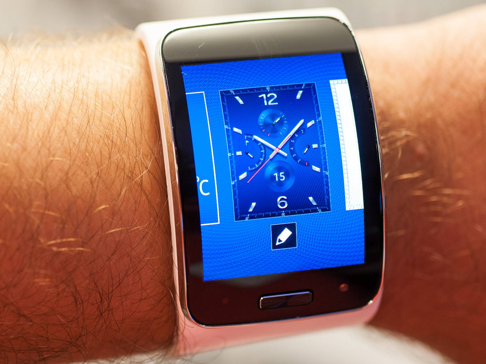 samsung gear s horloge