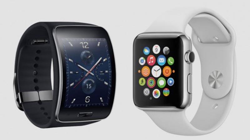 samsung gear vs apple watch