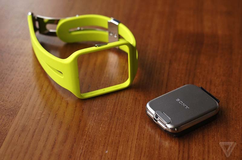 sony smartwatch 3 bracelet interchangeable