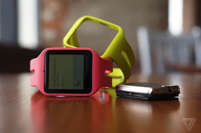 sony smartwatch 3 couleurs