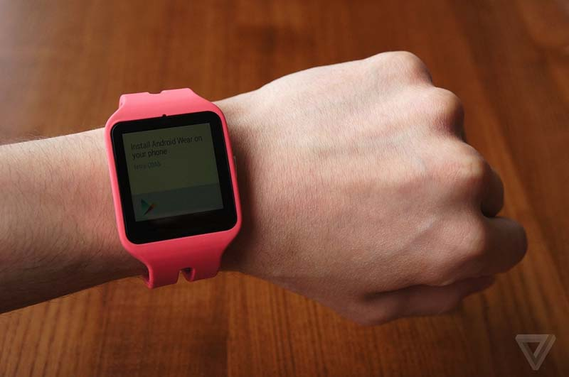 sony smartwatch 3 taille