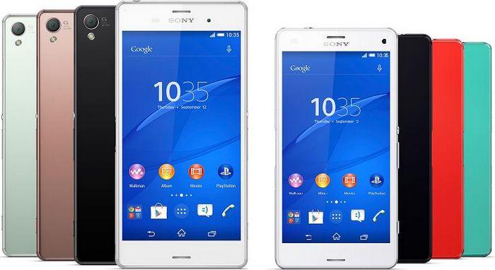 autonomie des Sony Xperia Z3 et Z3 Compact