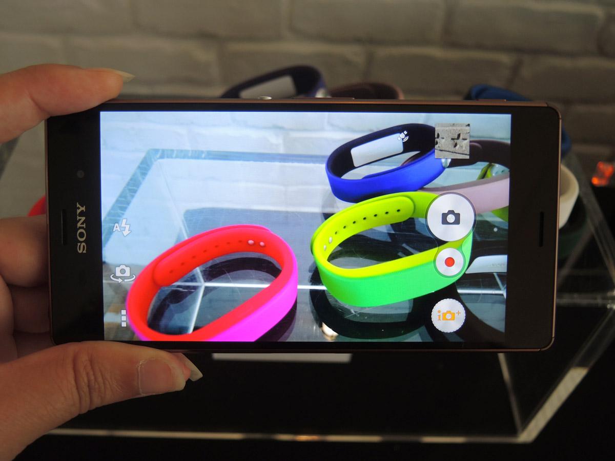 capteur photo du Sony Xperia Z3