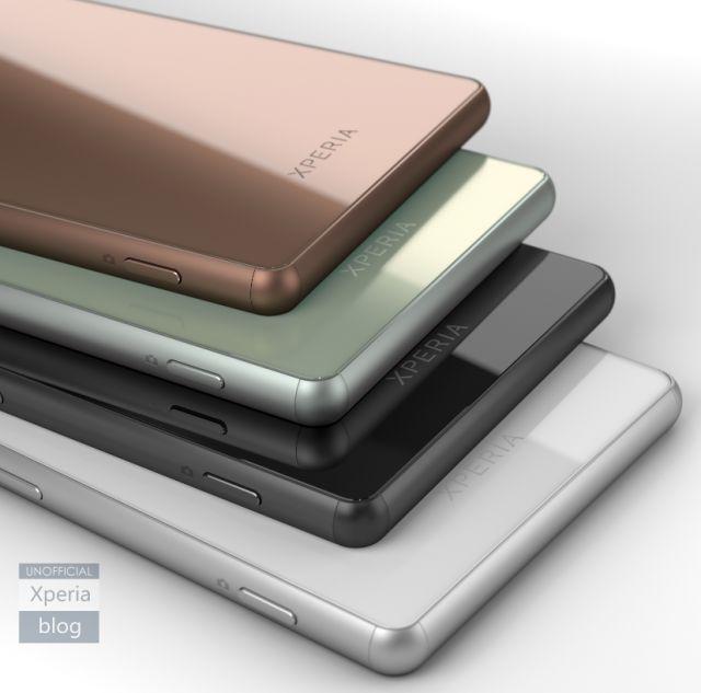 Sony Xperia Z3 coloris