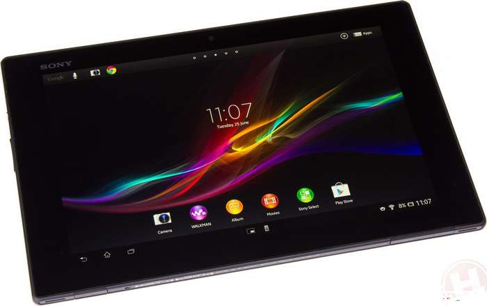 Sony Xperia Tablet Z mise à jour Android 4.4.4 KitKat