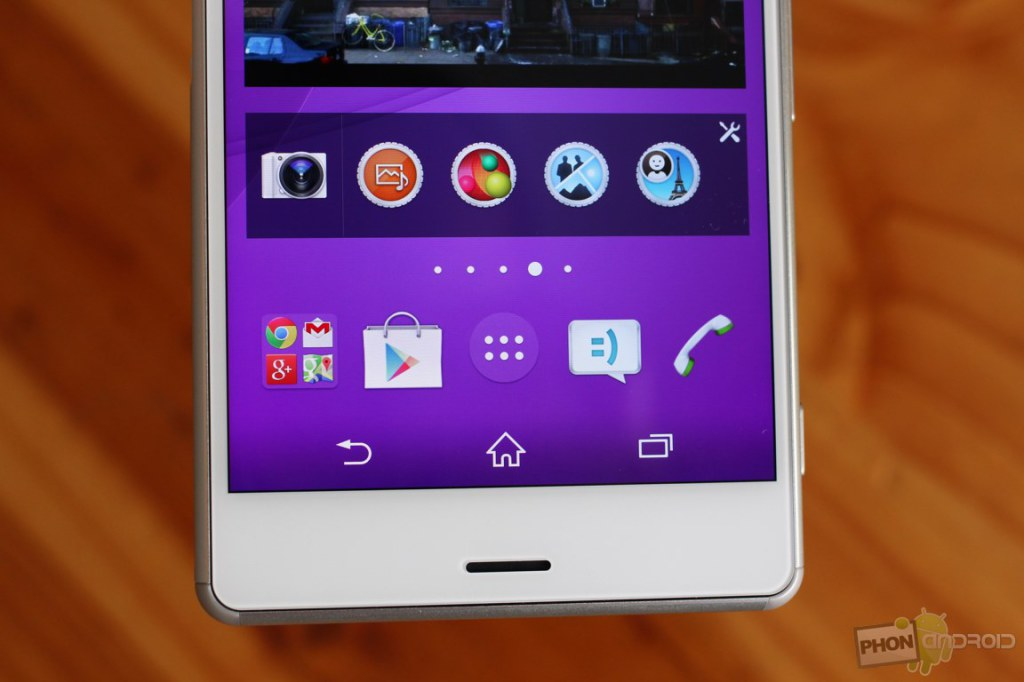 sony xperia z3 touche tactile