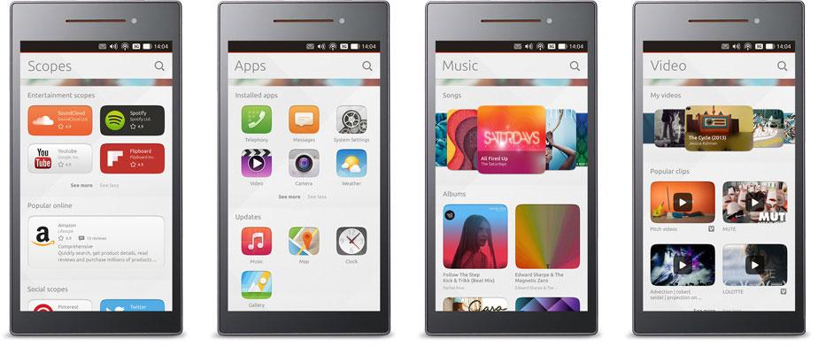 ubuntu touch smartphone