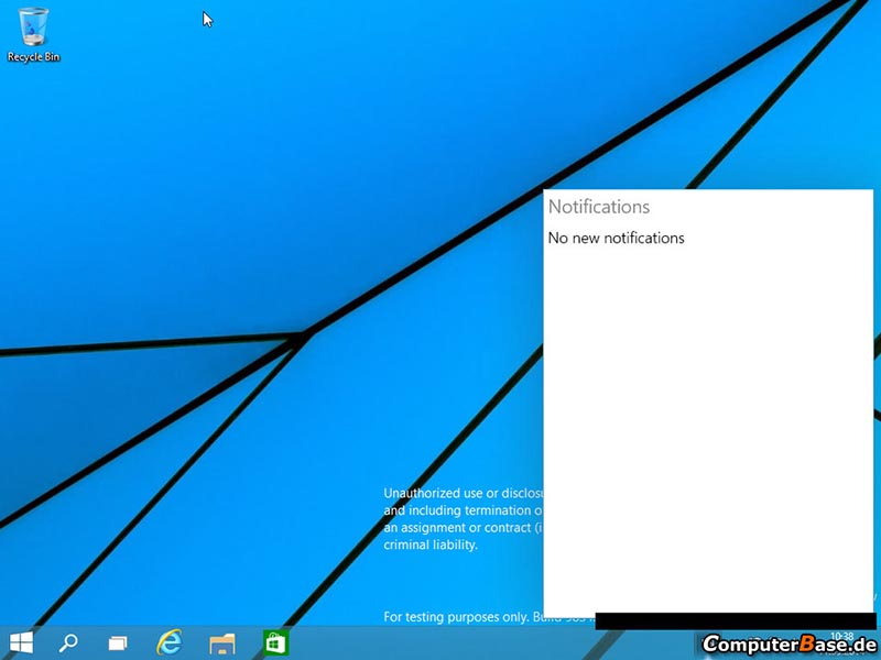 windows 9 bouton demarrer