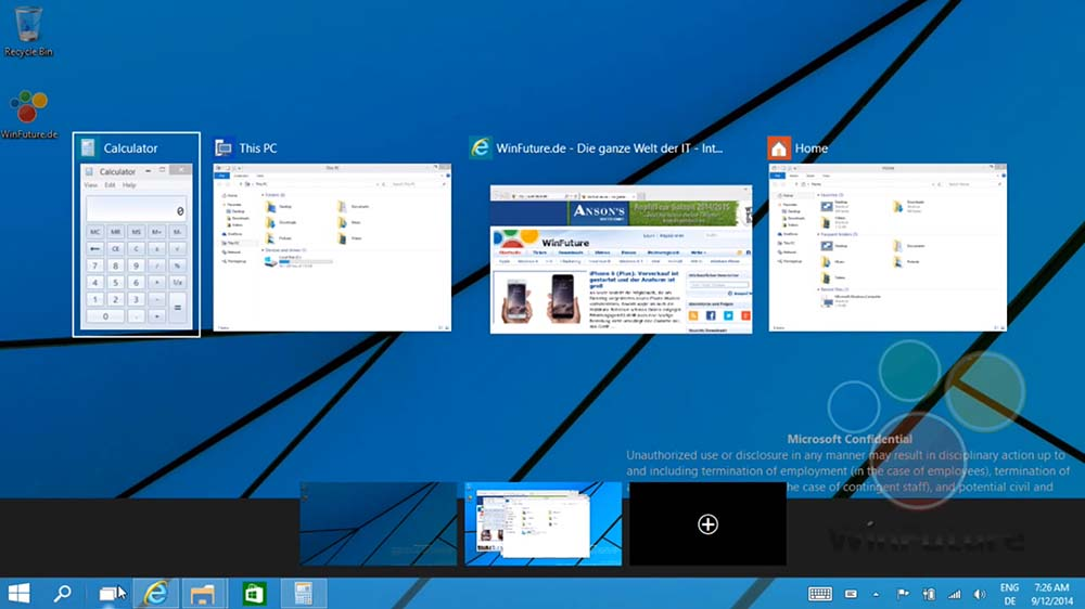 windows 9 mise a jour offerte