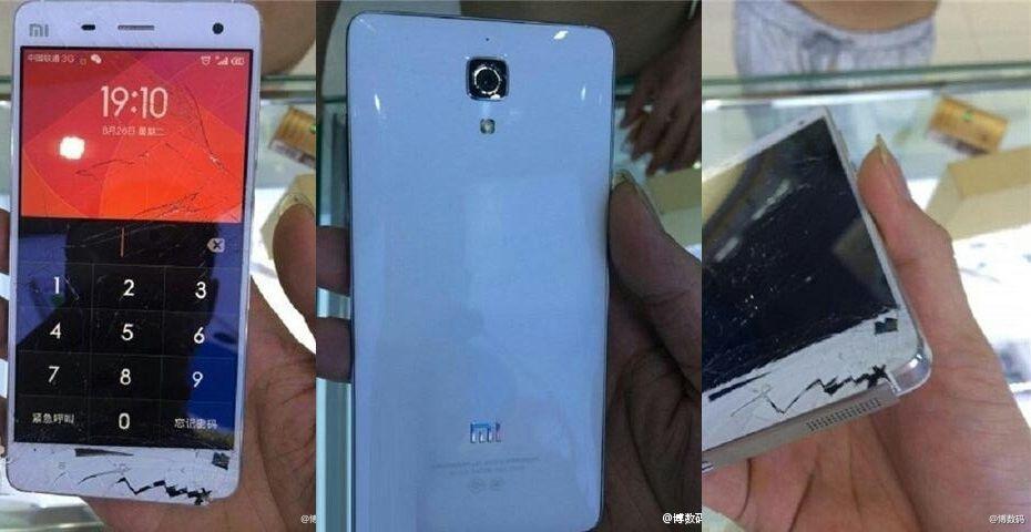 Xiaomi Mi4 chute