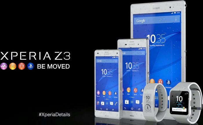 Sony Xperia Z3 prix