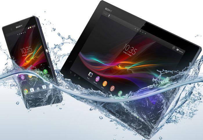 Sony Xperia Z et Tablet Z