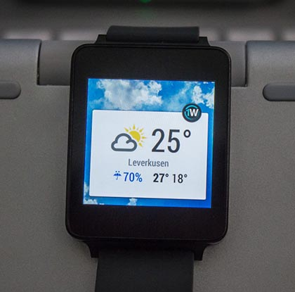 1weather android wear