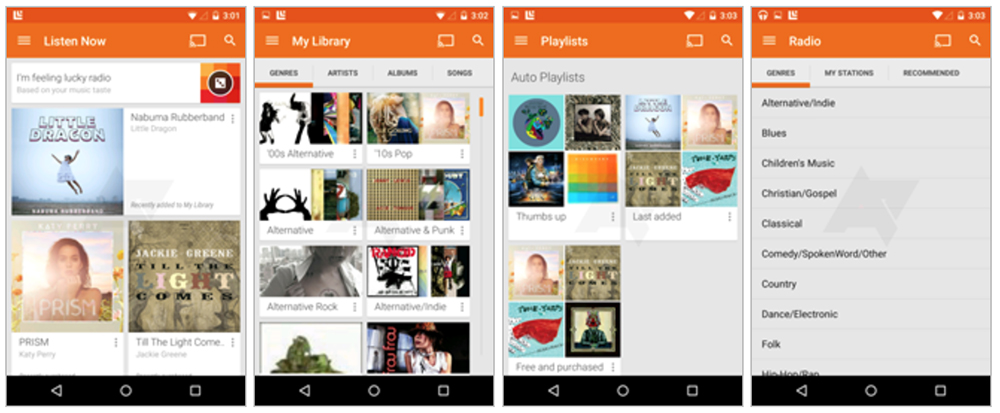 Android-google-musique